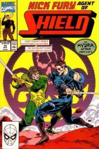 Nick Fury: Agent of SHIELD (1989 series) #14, VF+ (Stock photo)