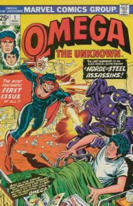Omega the Unknown #1 FN; Marvel | save on shipping - details inside
