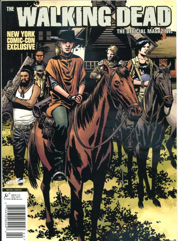 WALKING DEAD MAGAZINE #10, NM, Zombies, Horror, Kirkman, 2012, more in store