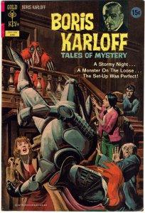 Boris Karloff Tales of Mystery #41 FN+