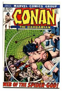 Conan The Barbarian #13 comic book 1972-  Barry Smith -Robert E Howard