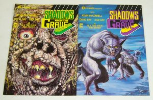 Shadows From The Grave #1-2 VF/NM complete series - david day - renegade horror