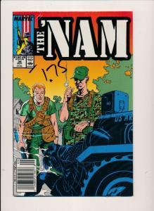 Marvel Comics THE 'NAM  #34 ~ VF/NM 1986 (HX740)