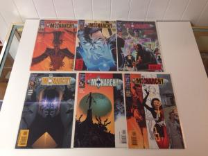 The Monarchy 1-6 Near Mint Set Run Lot