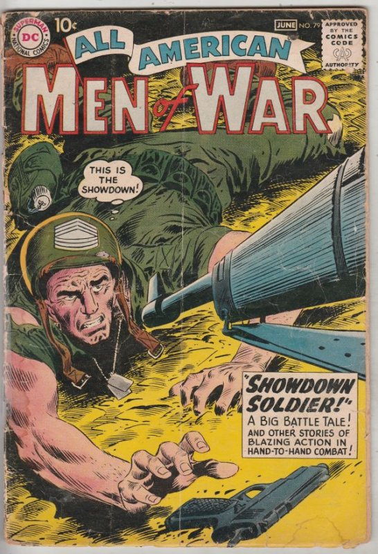 All-American Men of War #79 (Jun-60) VG- Affordable-Grade