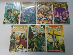 Green Lantern Green Arrow set #1-7 NM (1983)