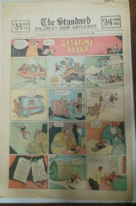 (41) Gasoline Alley Sunday Pages by Frank King from 1930 Size: 11 x 15 inches