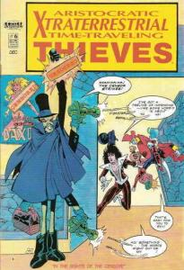 Aristocratic X-Traterrestrial Time-Traveling Thieves #6 VF/NM; Comics Interview