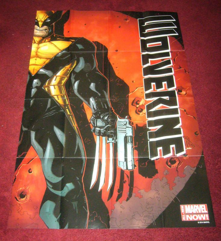 Wolverine poster by Ryan Stegman 36 x 24 all-new marvel now
