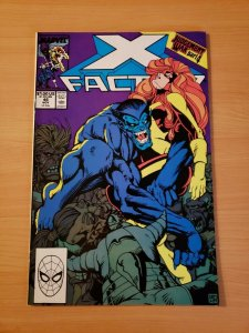X-Factor #46 Direct Market Edition ~ NEAR MINT NM ~ (1989, Marvel Comics)