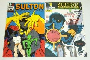Sulton #1-2 FN complete series - sang lee - CA comics set lot 1987 indy