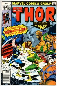 THOR #275 VF/NM God of Thunder Buscema vs Loki 1966 1978, more Thor in store