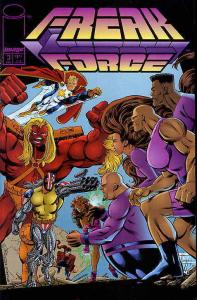 Freak Force #3 VF/NM; Image | save on shipping - details inside
