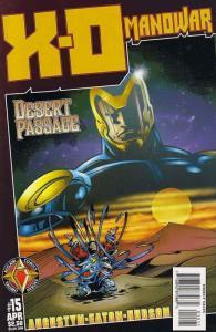 X-O Manowar (Vol. 2) #15 VF; Acclaim | save on shipping - details inside