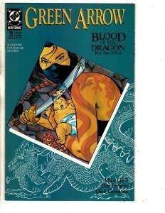 Lot Of 10 Green Arrow DC Comic Books # 21 22 23 24 25 26 27 28 29 30 Batman CR6