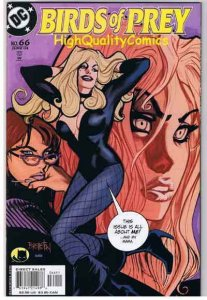 BIRDS of PREY #66, NM+, Black Canary, Brereton, 1999, more in store