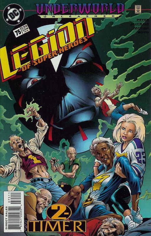 Legion of Super-Heroes (4th Series) #75 VF/NM; DC | save on shipping - details i