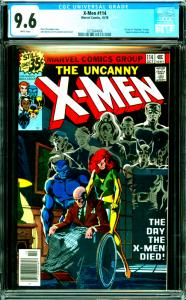X-Men #114 CGC Graded 9.6 1st Use of Uncanny in Logo