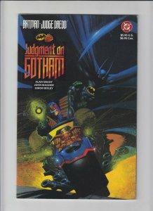 Batman/Judge Dredd: Judgment on Gotham #1 (4th) VF/NM; DC | we combine shipping