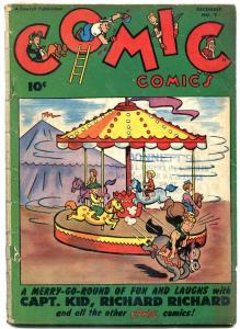 Comic Comics #9 1946-FAWCETT-Mystic Moot story -Basil Wolverton