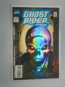 Ghost Rider 2099 #1 Foil cover 8.0 VF (1994)