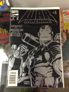 War Machine Set 1-10 VF/NM to NM- average condition