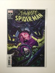 Symbiote Spider-Man 4 Near Mint Nm Land Cover Marvel