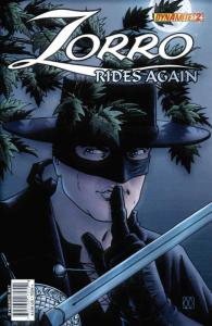 Zorro Rides Again #2A VF/NM; Dynamite | save on shipping - details inside