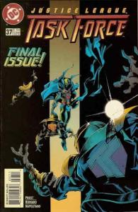 Justice League Task Force #37 FN; DC | save on shipping - details inside