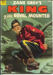 King of The Royal Mounted #14 1954-Dell-Zane Grey-RCMP-FN