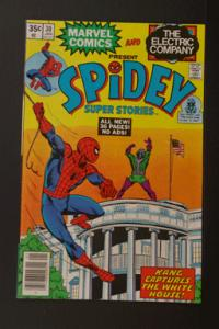 Spidey Super Stories #30 Jan 1978 Marvel & Electric Company