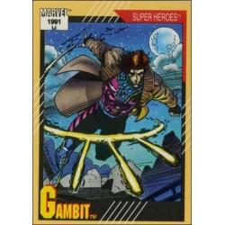 1991 Impel Marvel Universe: Series 2 GAMBIT #17 EX
