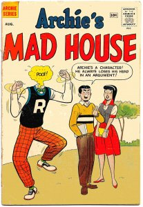 ARCHIE'S MADHOUSE #7 ( Aug1960) 4.0 VG • Rapid-Fire Teenager Jokes and Satires
