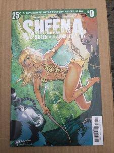 Sheena Queen of the Jungle #0 (2017)
