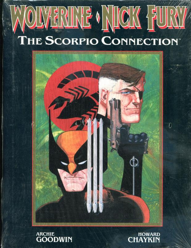 WOLVERINE NICK FURY - SCORPIO CONNECTION hc, NM, hardcover book, 1989,1st,sealed