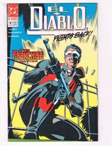 El Diablo #11 VF DC Comics Comic Book Jones July 1990 DE22