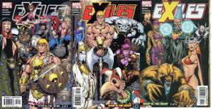EXILES (2001) 55-57  Bump In The Night COMICS BOOK
