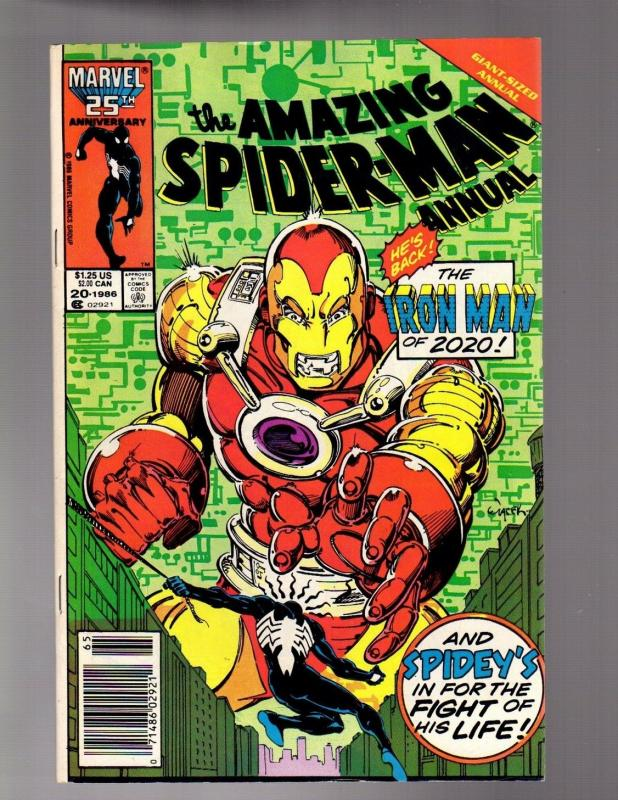 SPIDERMAN ANN 20 FINE  November 1986