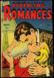 Revealing Romances #1 1949-ice skater romance- lingerie panels- G