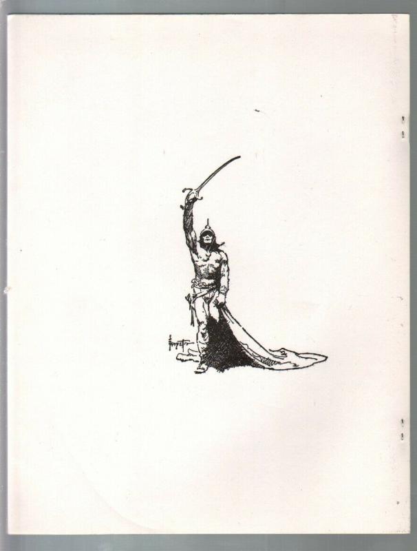 More Magic of Frank Frazetta 1970's-reproduces Frank Frazetta art & record cover