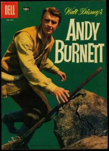 Four Color Comics #865- Andy Burnett TV Photo cover Dell VF
