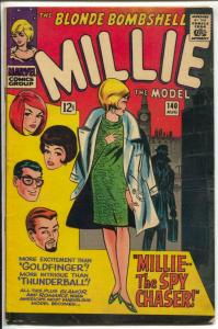 Millie The Model #140 1966-Marvel-Stan Lee-paper dolls-pin-ups-VG/FN