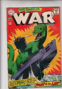 Star Spangled War Stories #137 (Mar-68) VG+ Affordable-Grade Dinosaur