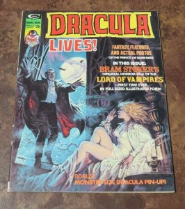 Dracula Lives #5 VF 1974 Horror Magazine Lord of Vampires Bram Stoker's Evil