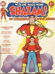 SHAZAM! Limited Collectors' Edition C21 1973 Captain Marvel Family Treasury Size