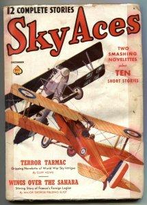 Sky Aces Pulp #3 December 1938- Terror Tarmac G-