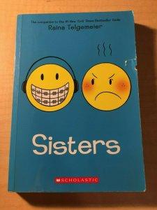Sisters Scholastic Comic Book TPB Graphic Novel Raina Telgemeier Teenage MFT2