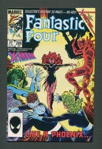 Fantastic Four #286  /  9.6 NM+  /  January 1986