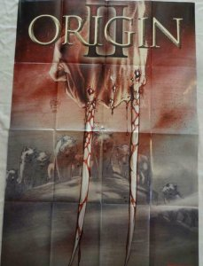 ORIGIN 2 Promo Poster, 24 x 36, 2013, MARVEL Wolverine, Unused 286