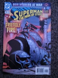 Superman: The Man of Steel #116 (2001) Vf-NM